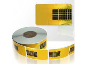 Šablóny na nechty 500 ks - zlaté