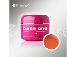 Farebný UV gél Base One 5g / 04 Apricot Mousse