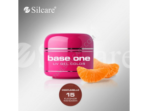 Perfumelle UV gél Base one 5g / 15 Eleonor Mandarin