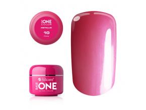 Metalický UV gél Base One 5g / 10 Pink