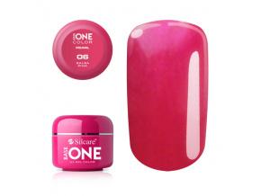 Pearl UV gél Base one 5g / 06 Salsa Pink