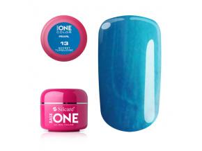 Pearl UV gél Base one 5g / 13 Secret Turquoise