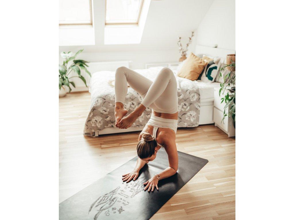 Protiskluzová podložka na jógu SOULMATES