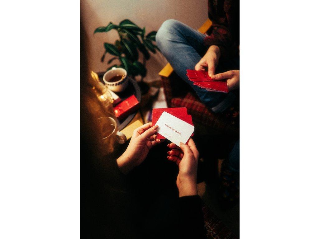 Vztahová karetní hra - COUPLE GOALS