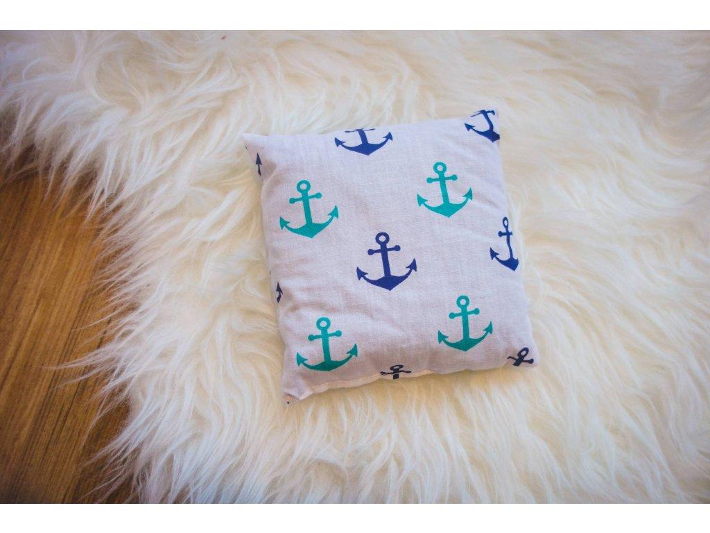 pohankový polštářek - námořník