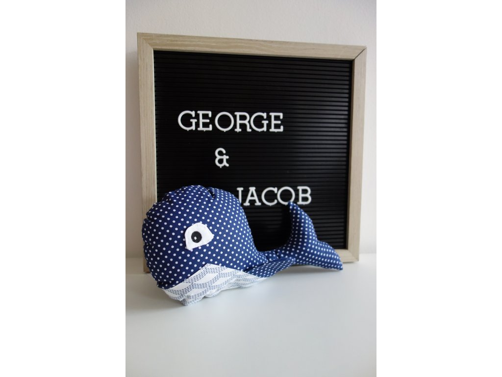 zvířátko velryba george & jacob