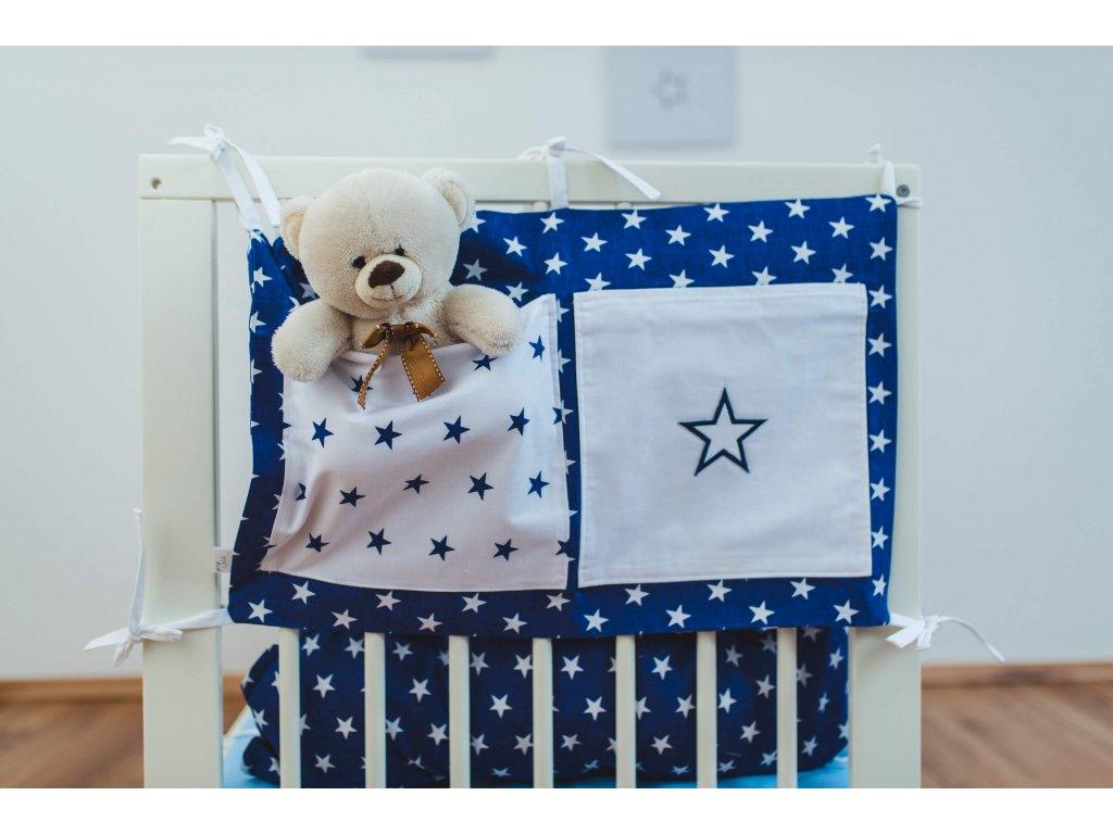 kapsář george & jacob hvězdičky modré