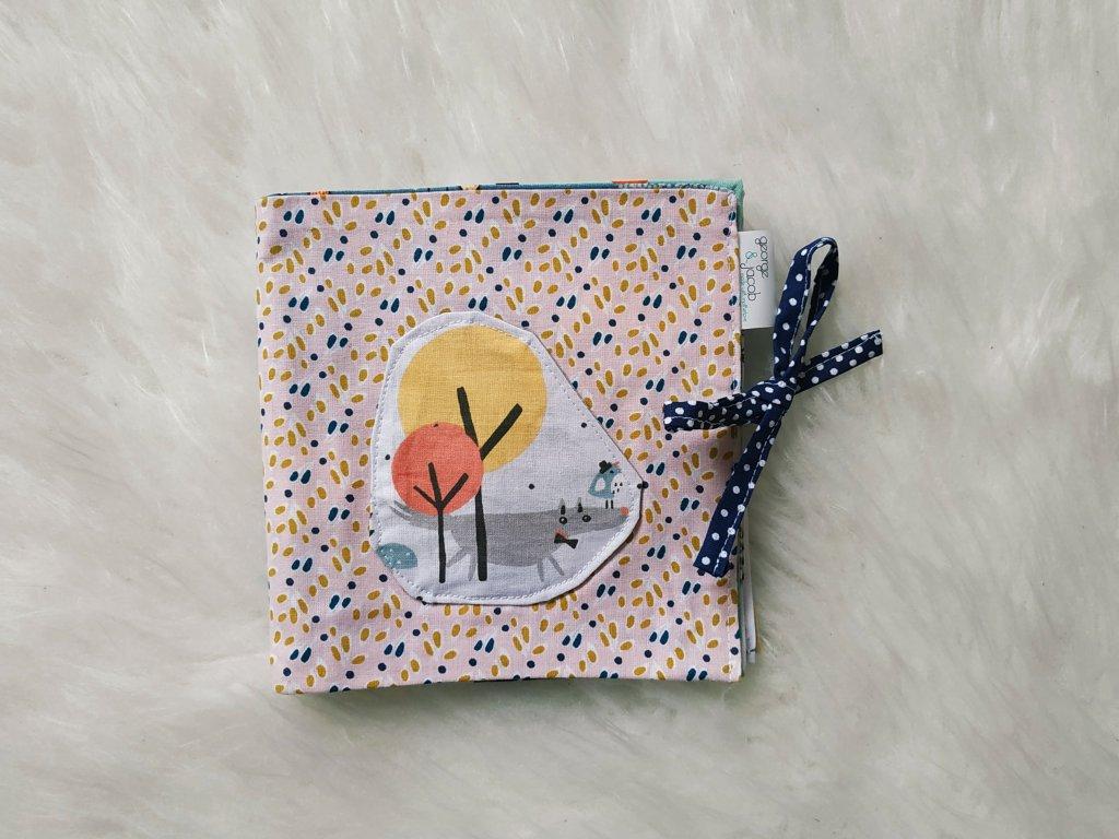 textilní knížka george & jacob - příroda
