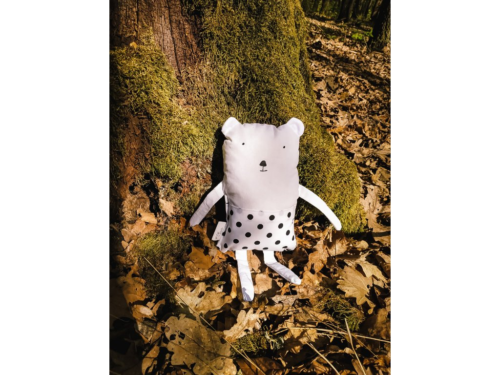 zvířátko bílý medvěd george & jacob