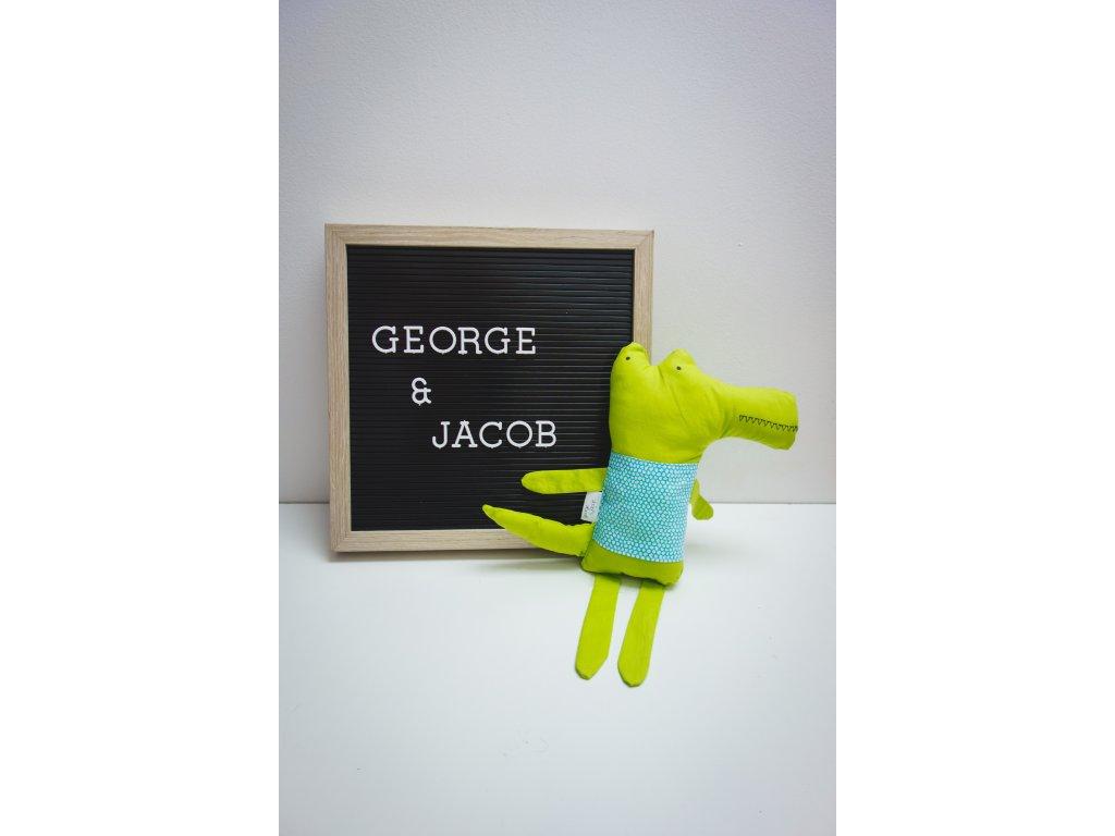 zvířátko krokodýl george & jacob