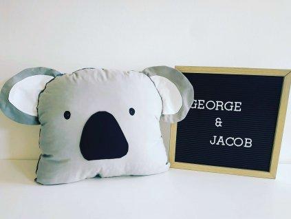 polštář koala george & jacob