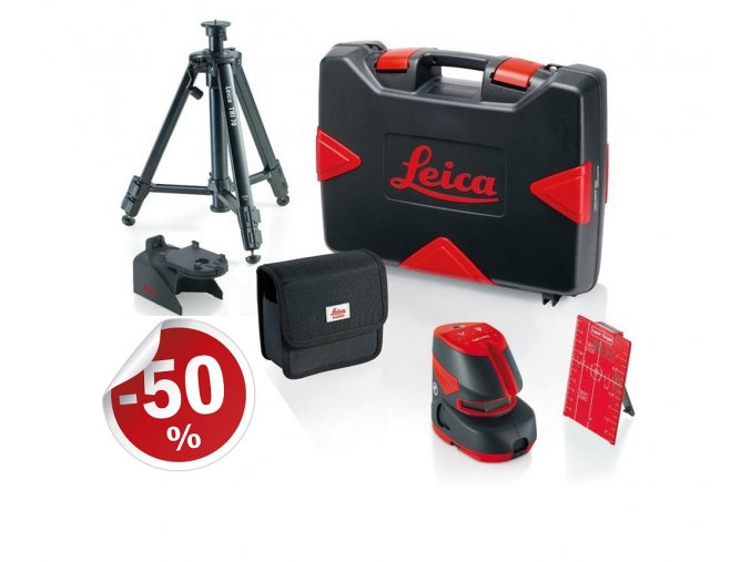 Čiarový laser Leica Lino L2P5 Professional SET