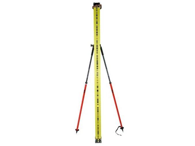 Držiak invarovej nivelačnej laty, 110–177 cm