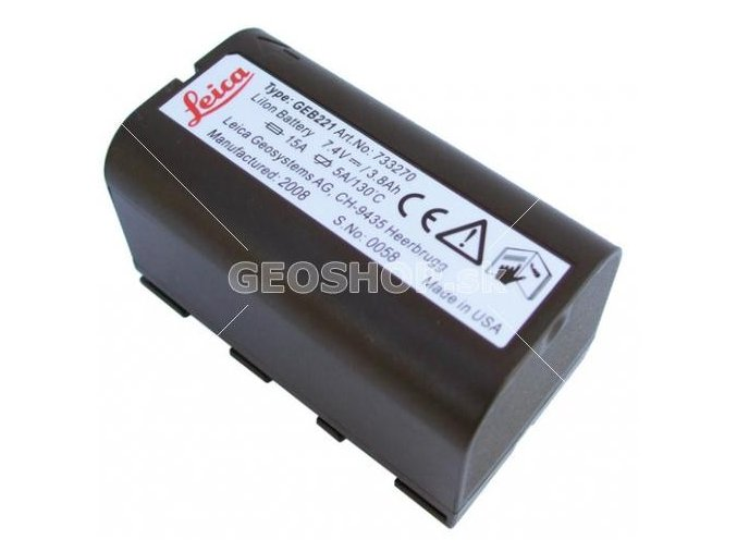 Batéria Leica GEB221