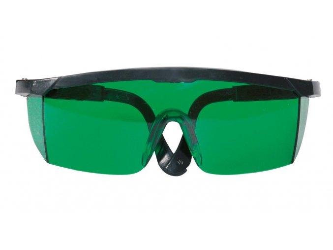 Laserové okuliare zelené