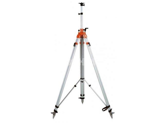 Statív obrí s elevátorom k rotačnému laseru