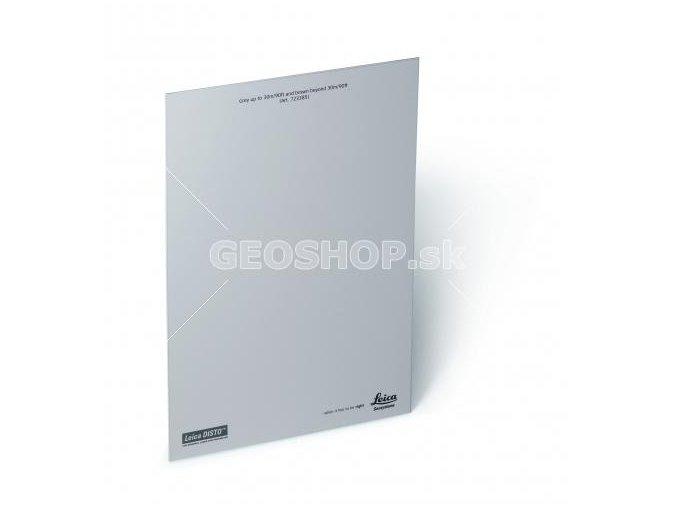 Terčová platňa GZM26, A4