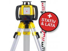 Rotačný laser Leica Rugby 610 + statív a lata