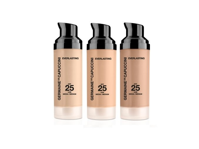 Germaine de Capuccini Make-up EVERLASTING SPF 25  Make-up normální a smíšená pleť