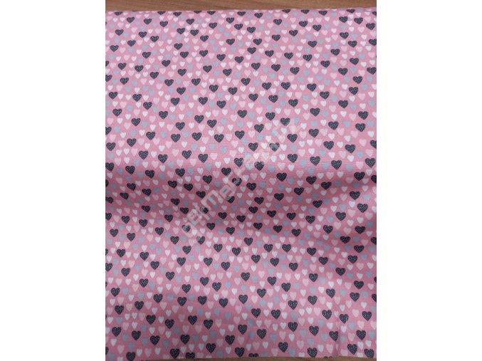 Růžová srdíčka (BA)