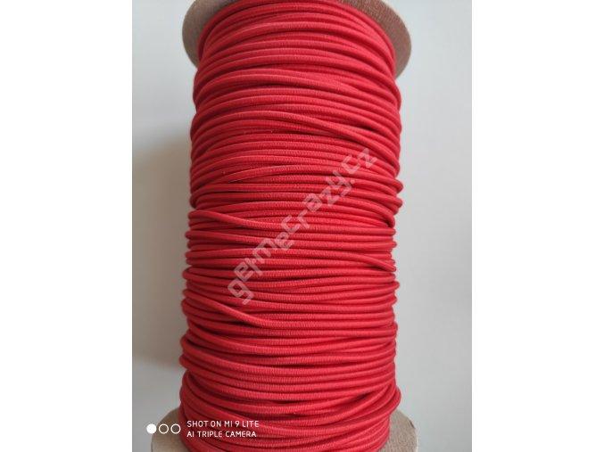 Gumička červená 2,5mm
