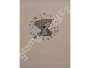 Méďa kluk s puntíky (P)