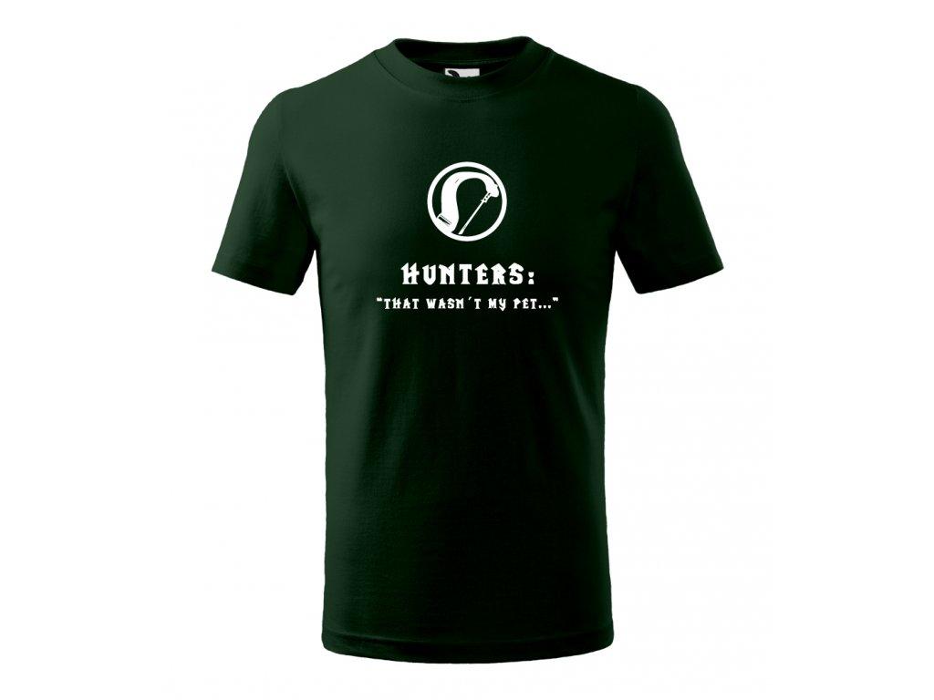WOW Hunter green