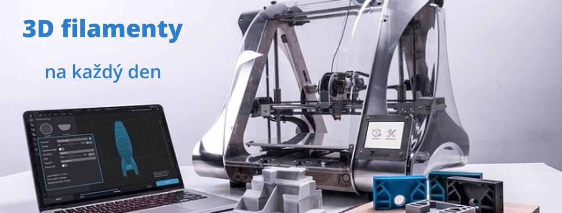 3D filamenty