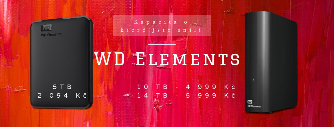 IP kamery a externí HDD od WD