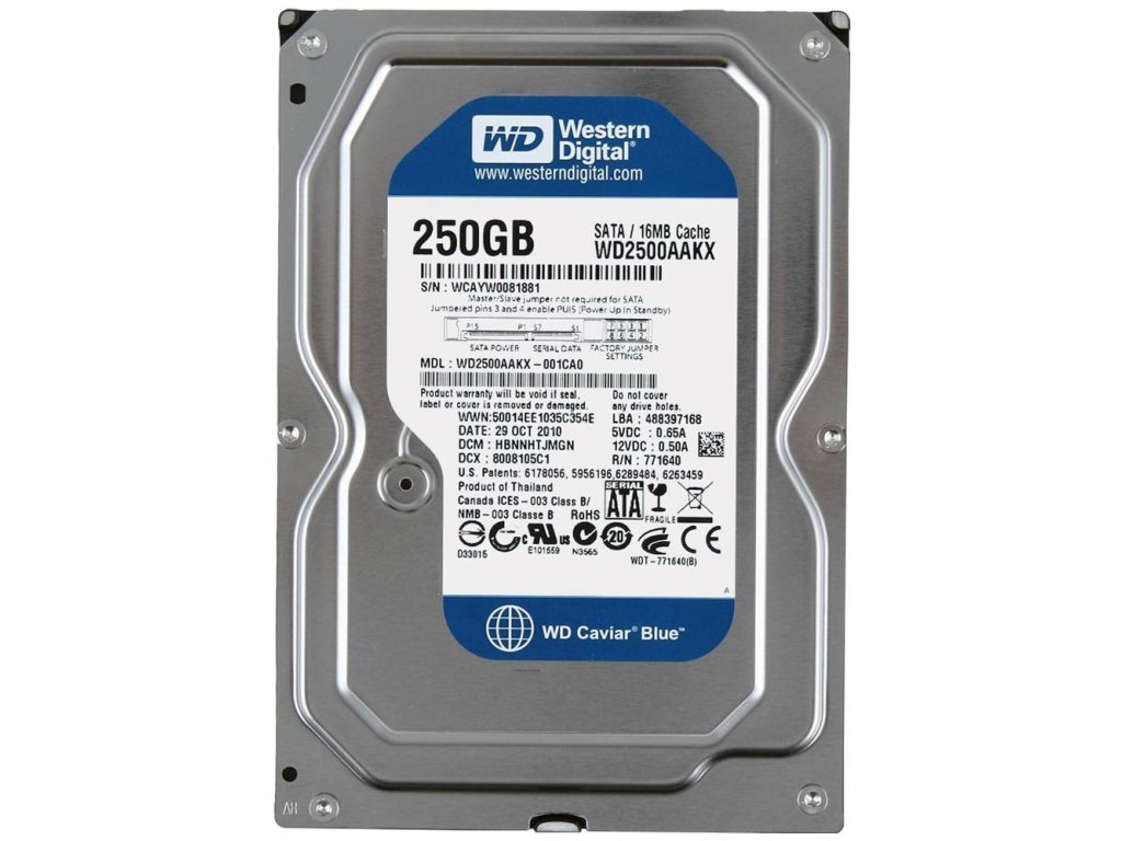 wd2500aakx