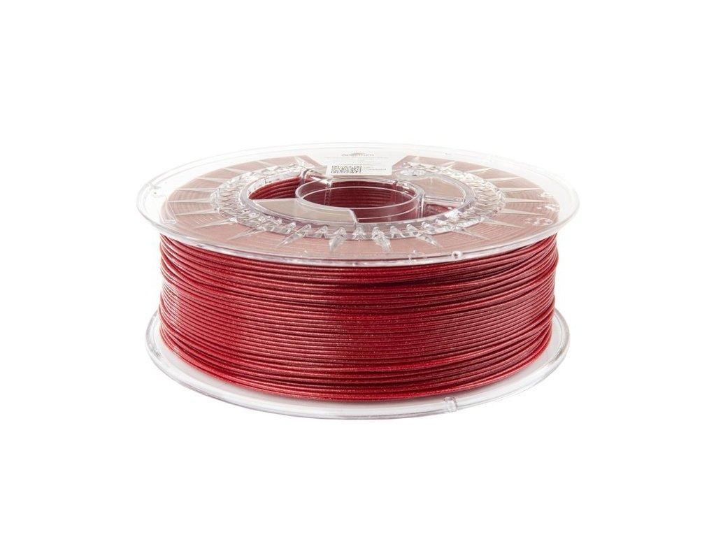 eng pl Filament PLA Glitter 1 75mm SPARKLE RED 1kg 1263 4