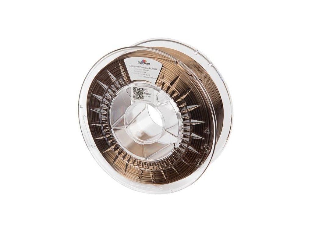 pol pl Filament PLA SILK 1 75mm Cinnamon Bronze 1kg 1271 1