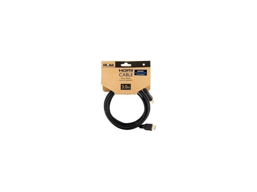 4World Kabel HDMI HDMI High Speed s Ethernet (v14) z1