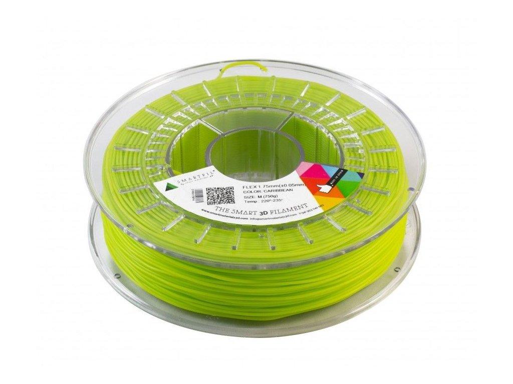 FLEX tisková struna green caribean 1,75 mm