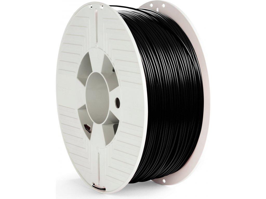 PET-G filament 1,75 mm černý Verbatim 1 kg