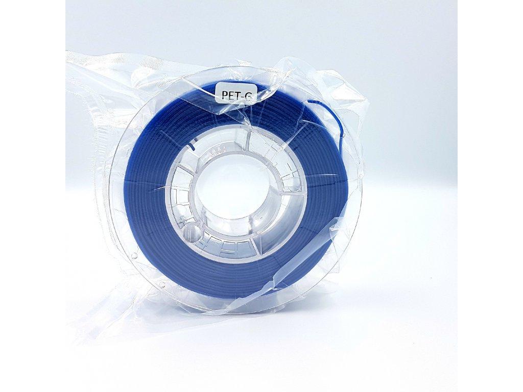PET-G filament 1,75 mm super modrý Devil Design 330g