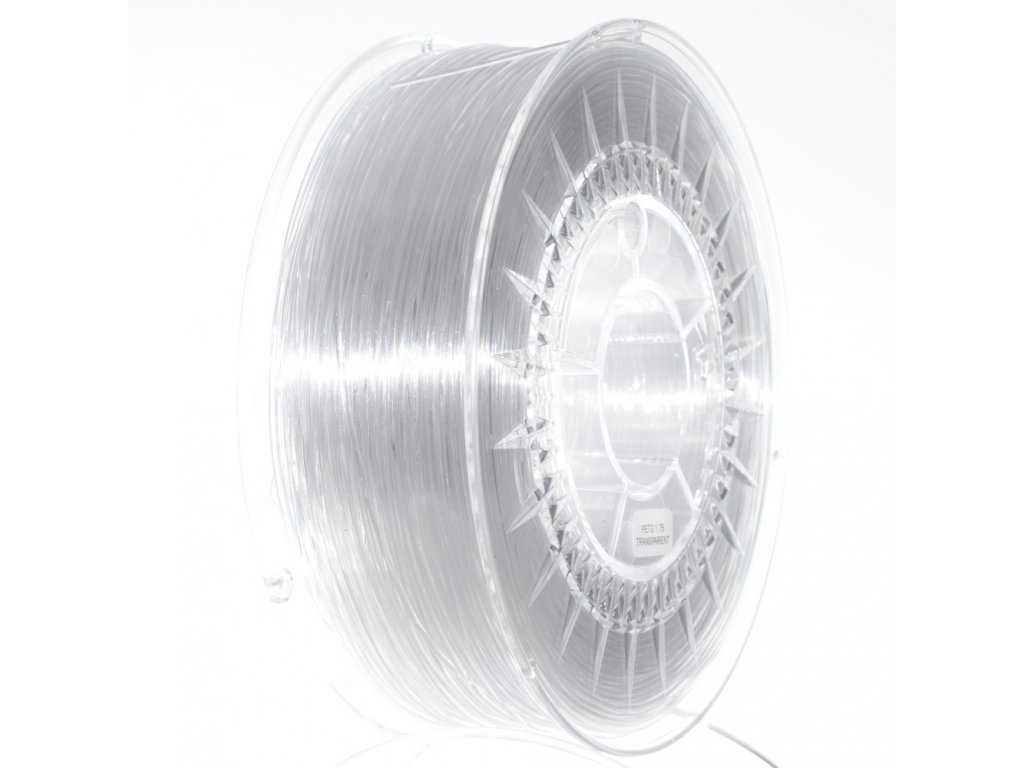 PETG filament 1.75MM transparentní DEVIL DESIGN