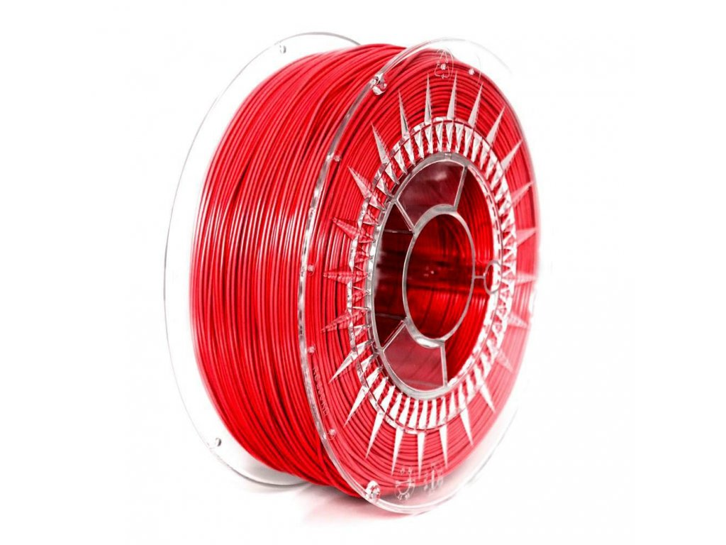 PETG filament 2,85mm červený DEVIL DESIGN