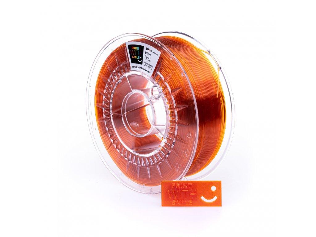 PETG orange glass 2