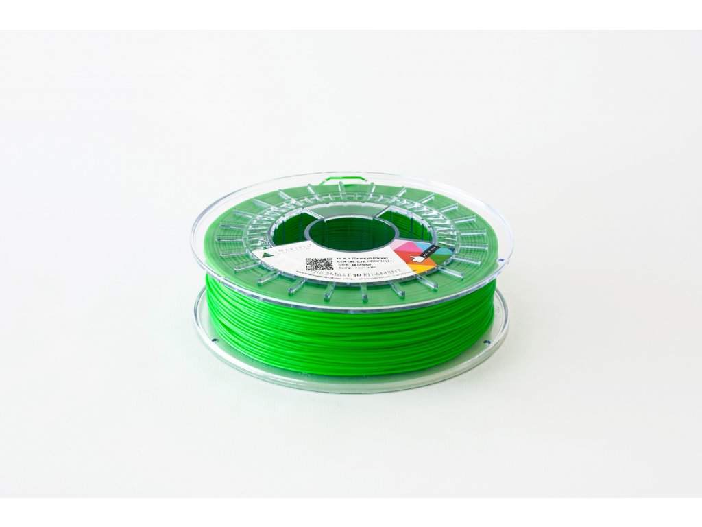 PETG tisková struna zelená Chlorofyl 1,75 mm Smartfil 1kg