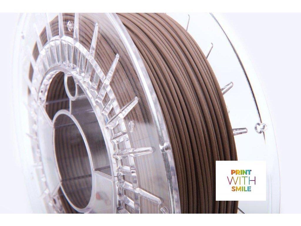 PLA CORK filament 1,75 mm Print With Smile 0,45kg