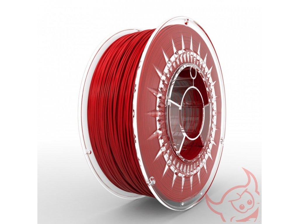 1058 pla filament 1 75 mm cerveny devil design 1 kg