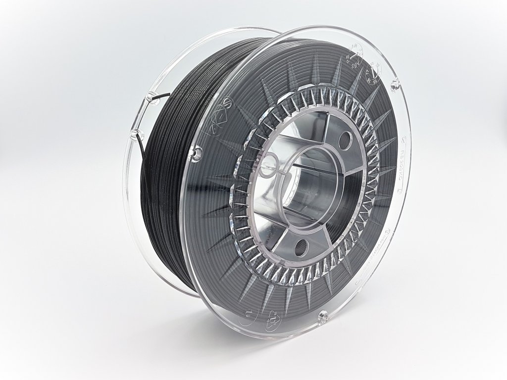 PLA Galaxy Black tisková struna Devil Design 1,75mm 1kg