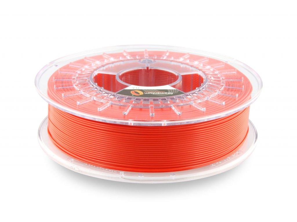PLA filament Extrafill červený 1,75mm 750g Fillamentum
