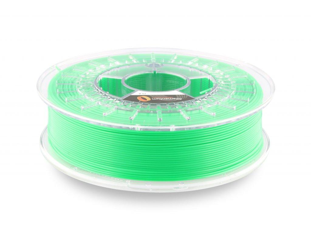 PLA filament Extrafill svítivá zelená  2,85mm 750g Fillamentum