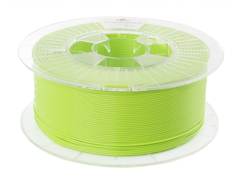 D PLA 1,75 Lime Green 2