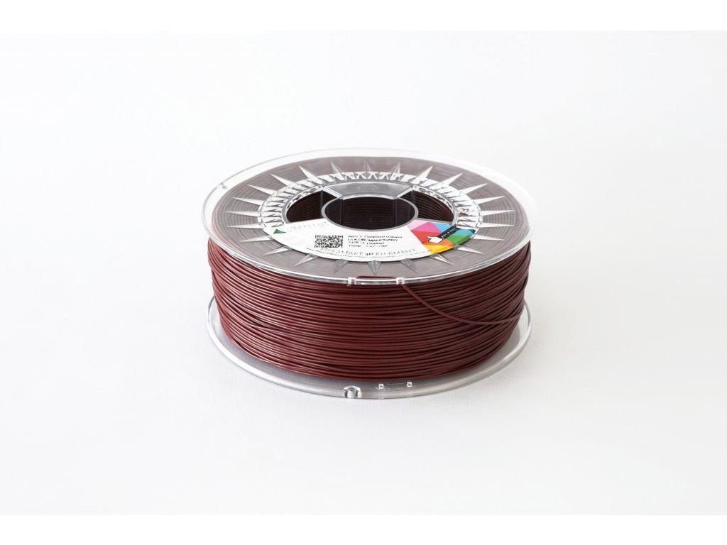 PLA tisková struna mahagonově hnědá 1,75 mm Smartfil 1kg