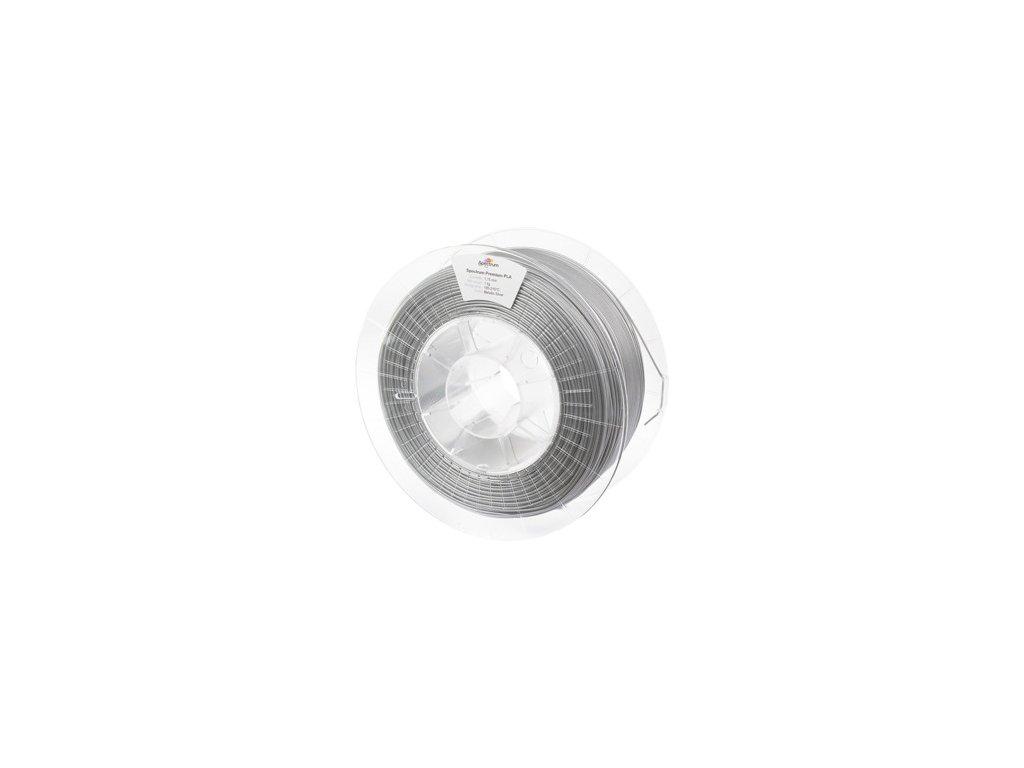 PLA tisková struna Silver Metallic 1,75 mm Spectrum 0,5 kg