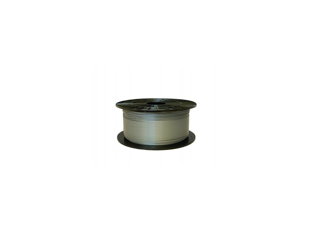 PLA tisková struna stříbrná 2,90 mm 1 kg Filament PM