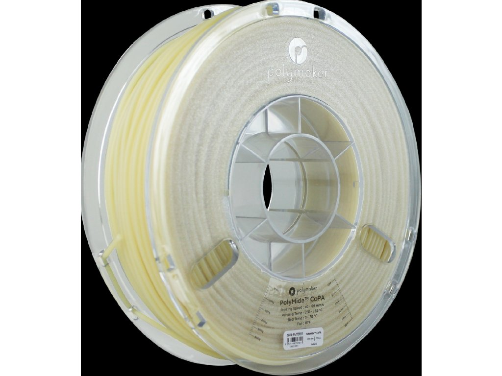 PolyMide CoPa Nylon filament natural 1,75mm Polymaker 750g
